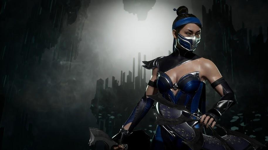 Kitana Mortal Kombat 11 4K Wallpaper #138