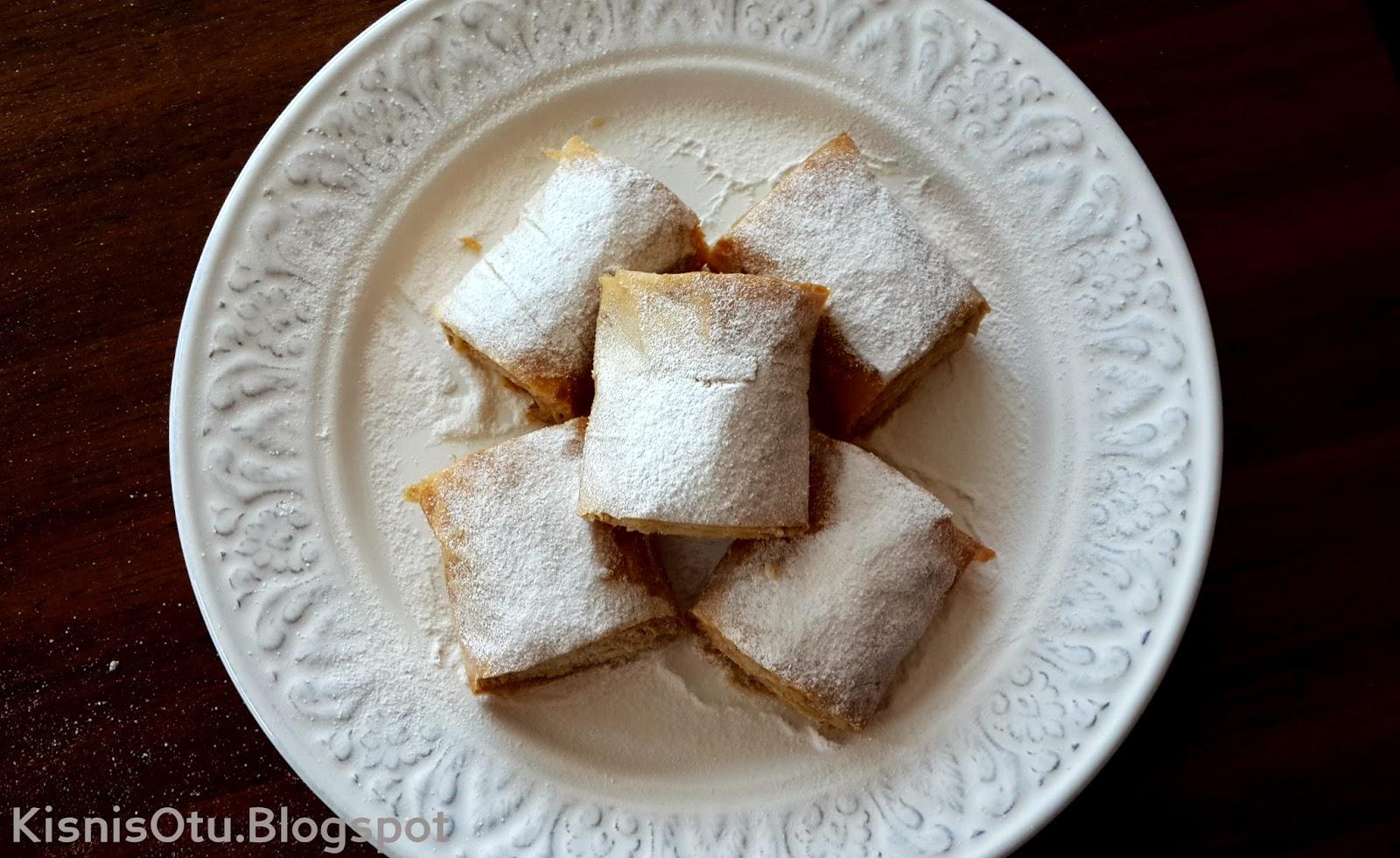 Baklava yufkasından cevizli tahinli çörek tarifi ve  bir çok tarif Kişniş Otu'nda