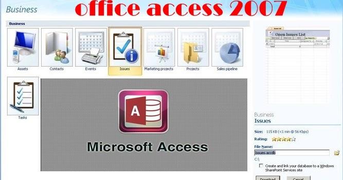 تحميل برنامج access 2003 عربي مجانا