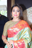 Shriya Saran Looks Stunning in Silk Saree at VRK Silk Showroom Launch Secundrabad ~  Exclusive 126.JPG