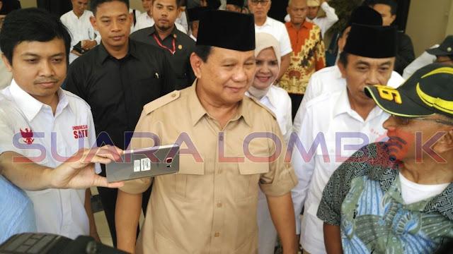 Prabowo Subianto Hadiri Deklarasi Ahyar - Mori