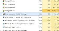 """Processo """"Host Esperienza Shell di Windows"""" se usa troppa memoria in Windows 10"""