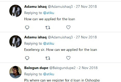 People wanted to know how to apply for the loan 2 years after