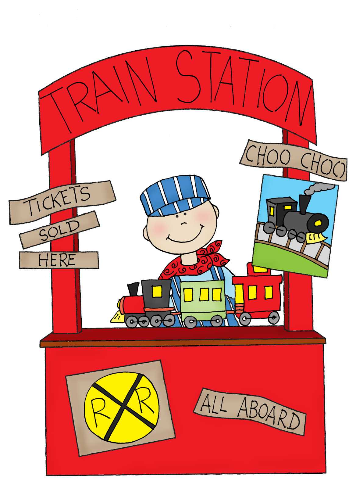 free dearie dolls digi stamps train station booth happy monday clipart minion happy monday clipart dog