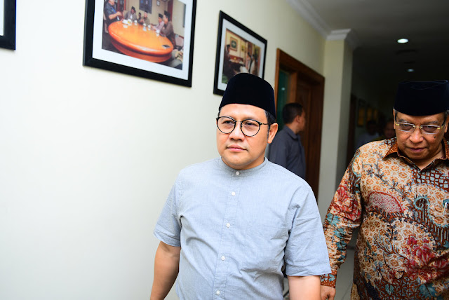 Ditanya Soal Aktor Penjegalan Mahfud, Cak Imin Bungkam