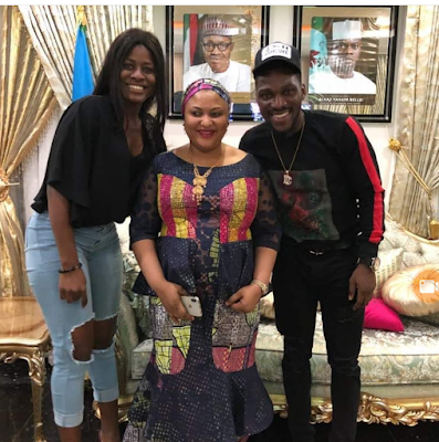 Don't Snatch Her Husband - IG Users Tell Alex After She Poses With Kogi 1st Lady
