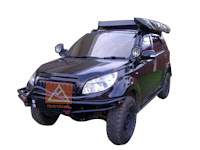 Tenda Awning Gulung Untuk Mobil Full Cover Thetrekkers