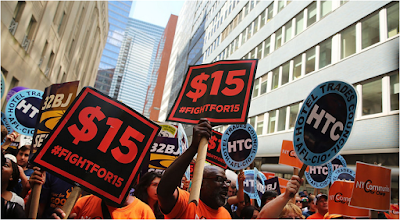 $15 Minimum Wage For Fast Food Workers in New York Approved