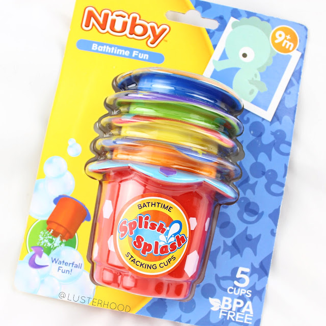 Nuby Splish Splash Stacking Cups  |  Lusterhood