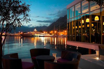 Restaurant near marina Kotor