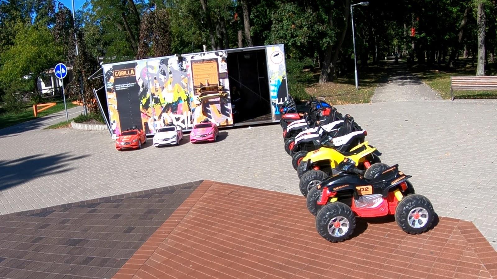 Парк Кар Кар. Аренда детских электроавтомобилей