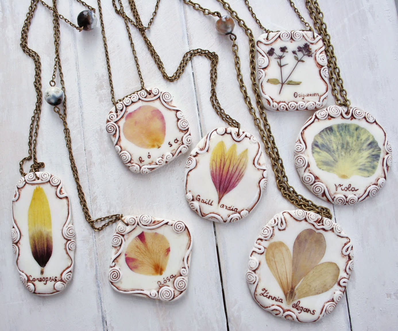 real flower jewelry