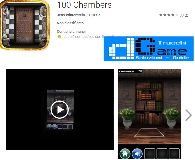 Soluzioni 100 Chambers di tutti i livelli | Walkthrough guide