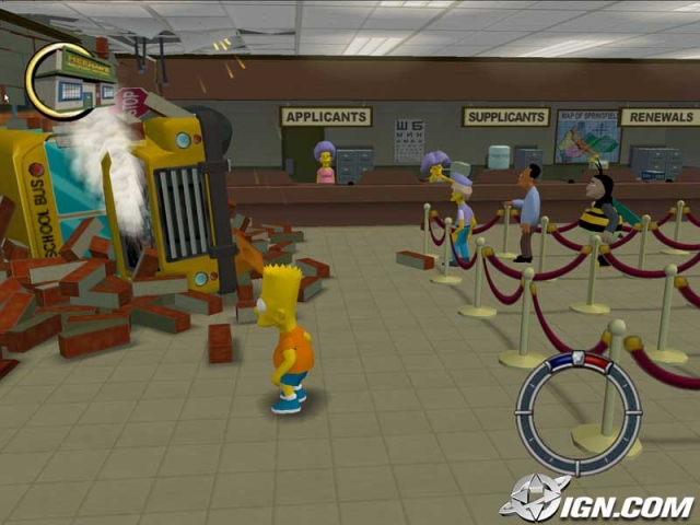 Los Simpsons Hit y Run PC Full Español ISO DVD5 Descargar