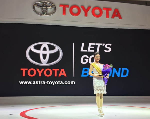 Miss Auto Show GIIAS 2016 berhasil diraih Vega Bellatrix dari Toyota