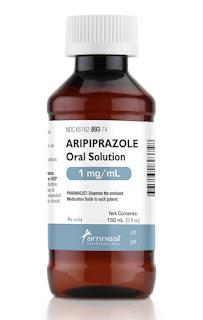 Aripiprazole oral solution