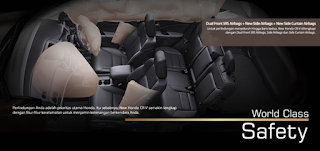 Fitur Honda CRV