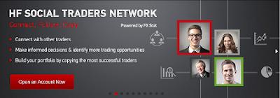 HF Social - Social Trading Service of HotForex