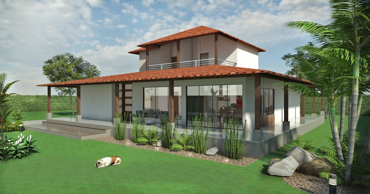 Planos de casas modernas for Disenos de casas campestres modernas