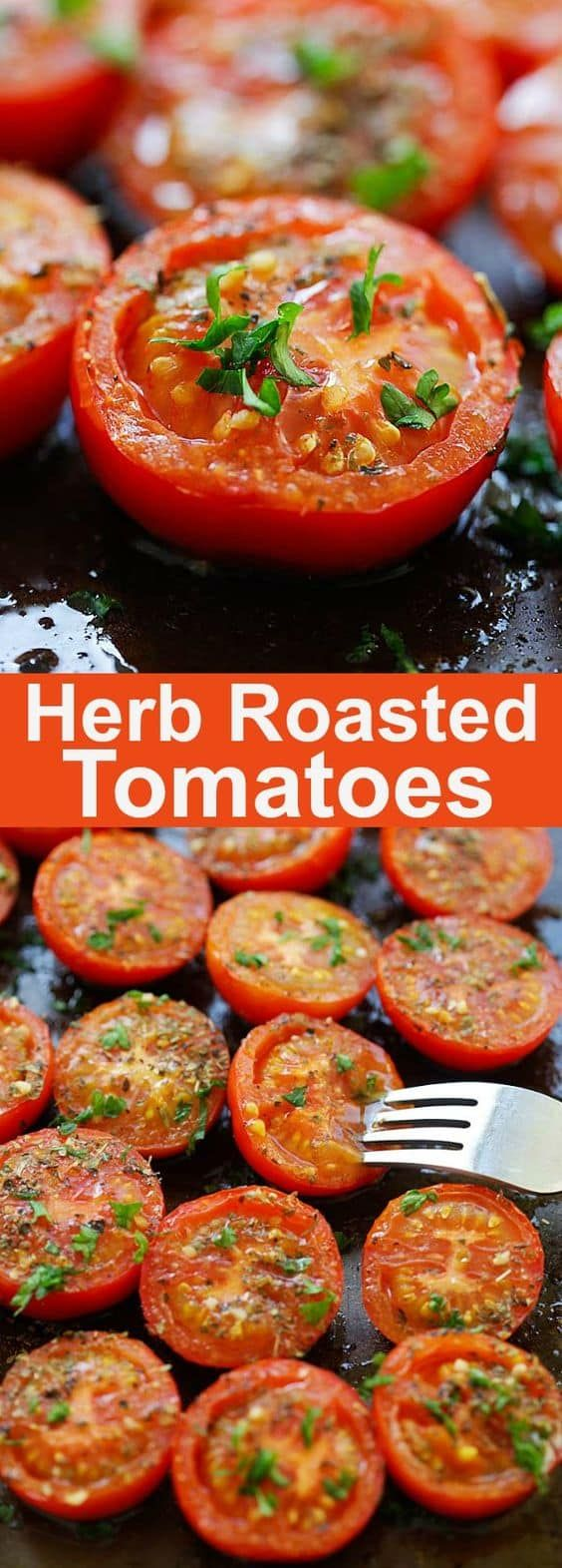 Herb Roasted Tomatoes Recipe
