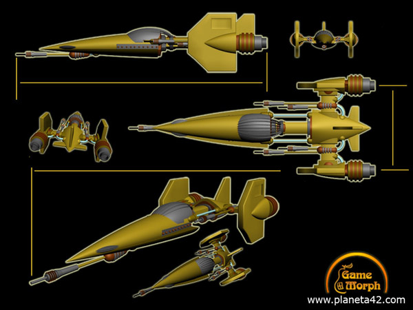 super cool star fighter 3D