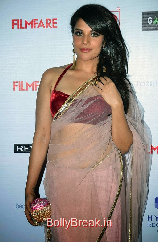 Richa Chadda, Filmfare Awards 2015 Red Carpet Pics for Nominations Pre Party