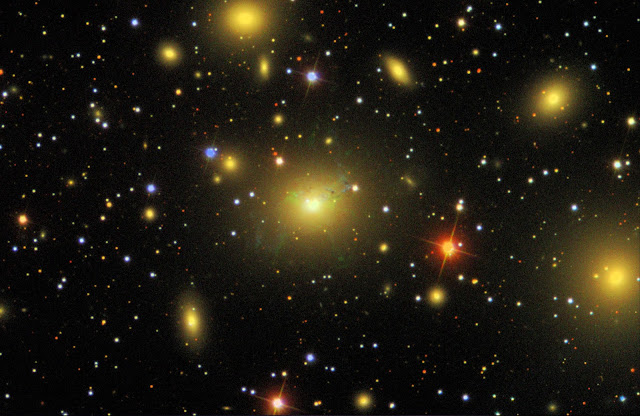 Stellar explosions and cosmic 'recipe' for nearby universe