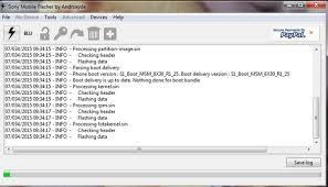 Flashing Sony Xperia Via Flashtool