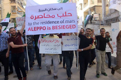 Yaa Allah.. Diabaikan Umat Manusia Di Dunia, Warga Aleppo Minta Tolong ke Penghuni Mars