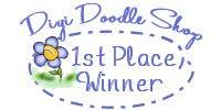 1st Place-Digi Doodle Shop's Best