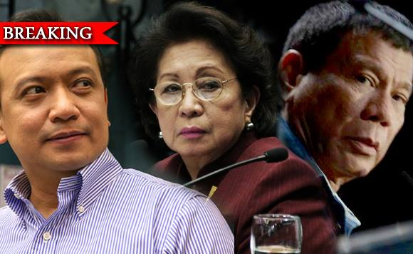 "Trillanes goes to Ombudsman to probe Duterte's ""ill-gotten wealth"""