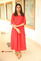 Actress Lavanya Tripathi Latest Pos in Red Dress at Radha Movie Success Meet .COM 0003.JPG