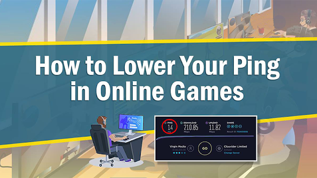 How To Lower Your Ping in Online Games (Lag free Gaming in