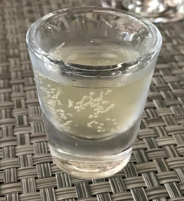 La Table du Chateau, Mauritius, lemonade