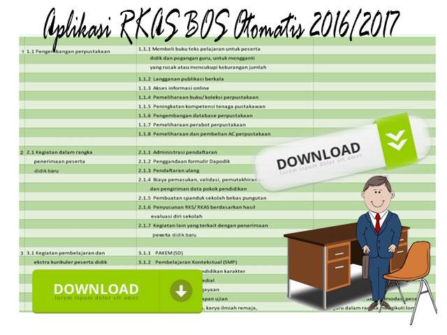 Aplikasi RKAS BOS Otomatis 2016/2017