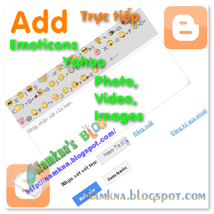 Add Emoticons Yahoo Photo Music Video for Thread Comment