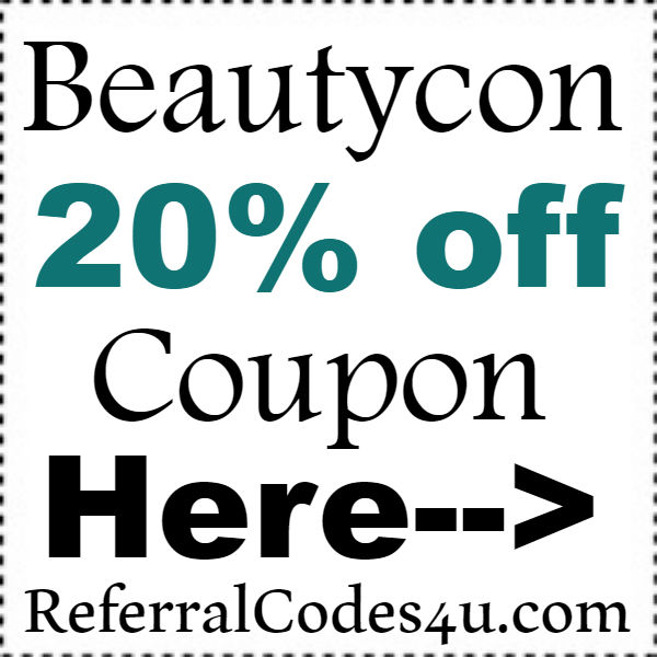 Beautycon Discount Code 2020, Beautycon Refer A Friend Coupon October, November, December