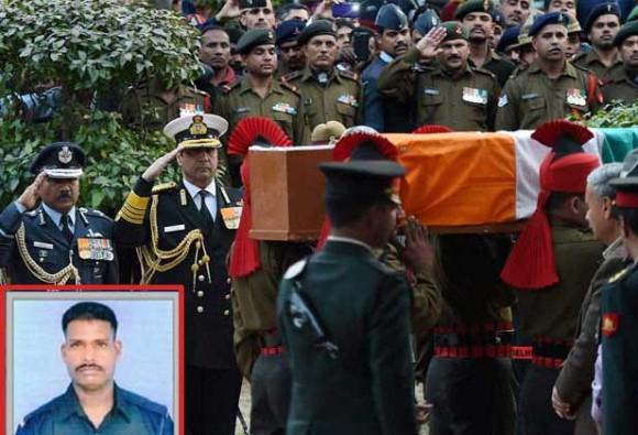 कर्नाटक के धारवाड़ में आज होगा जांबाज जवान हनुमंथप्पा का अंतिम संस्कार