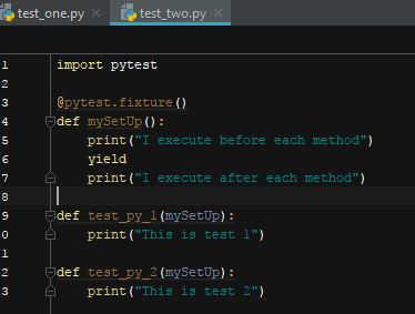 Python: Getting started with pyTest