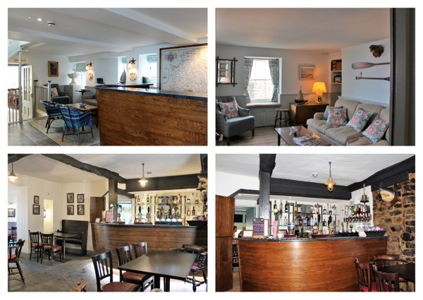 """Clovelly Updates. Refurbished Reception Area, Residents Lounge and Snug Bar - """"Traditional with a modern twist"""""""