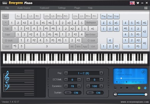 EVERYONE PIANO: Software gratis para aprender a tocar piano