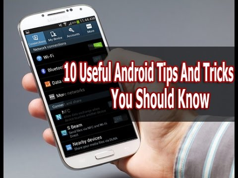 10 Android Mobile Tips & Tricks