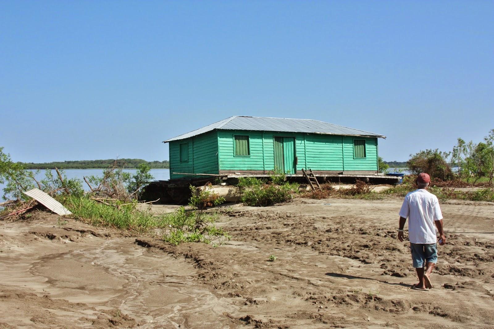 Passeio pela Comunidade Caburi, na Reserva Mamirauá