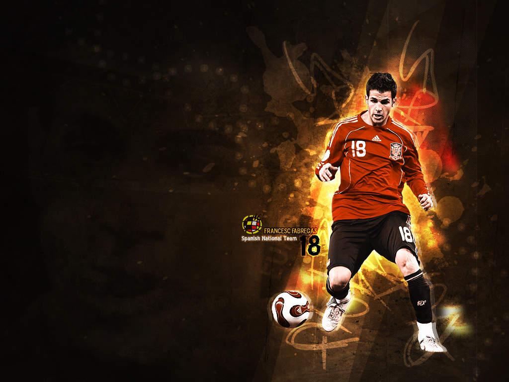 All Soccer Playerz HD Wallpapers: Francesc Fabregas New HD