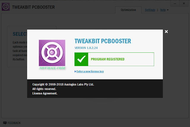 TweakBit PCBooster crack download