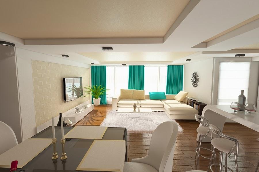 Design interior living apartament | Amenajari interioare Constanta pret