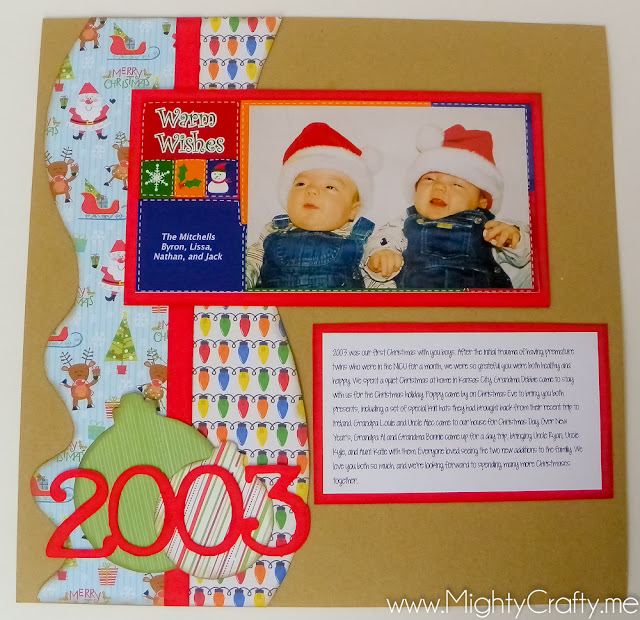 Christmas 2003 Cover Page by www.MightyCrafty.me