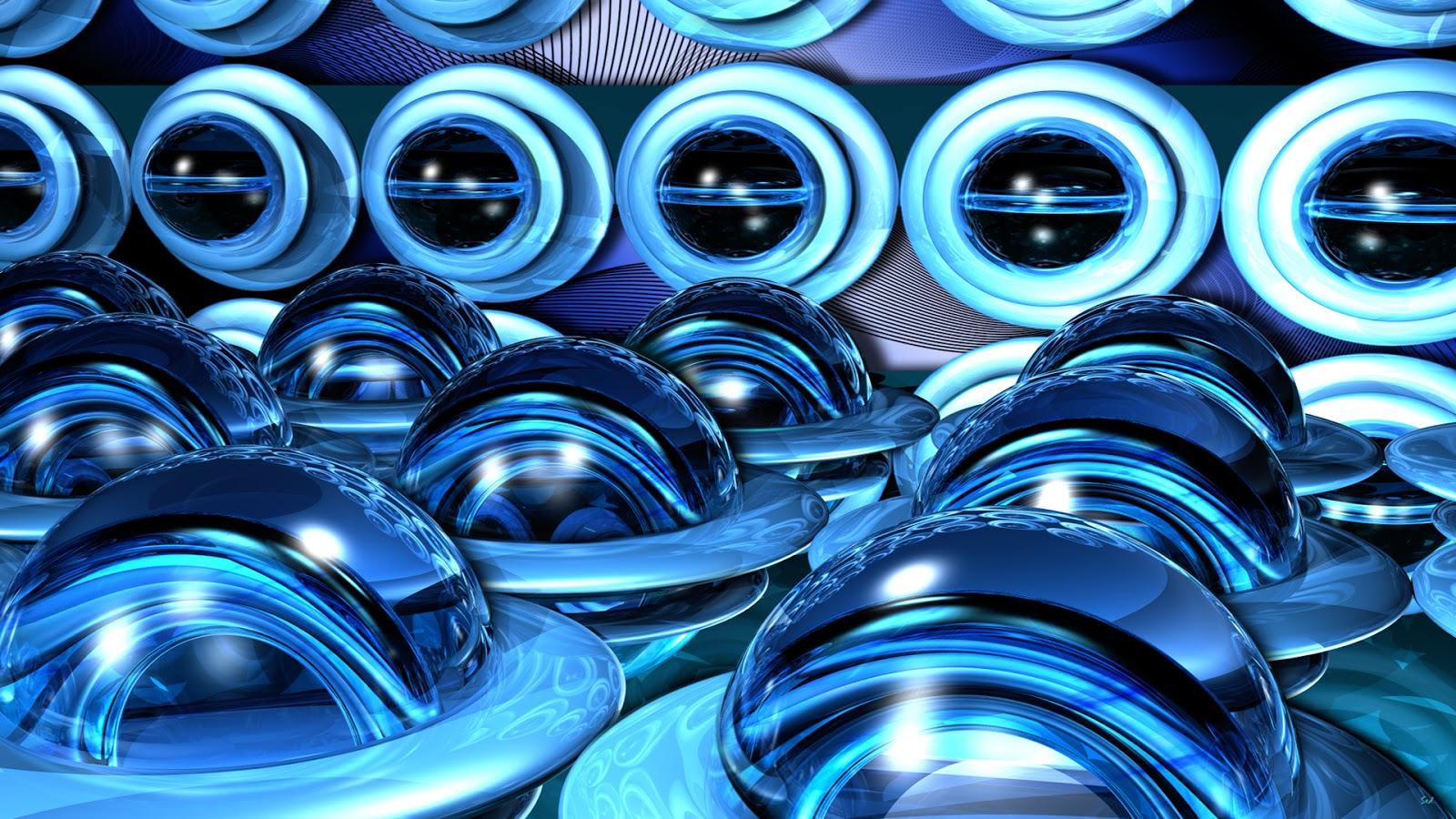 Fondo De Pantalla Abstracto Bolas Azules: Imagenes Hilandy: Fondo De Pantalla Abstracto Bolas Azules