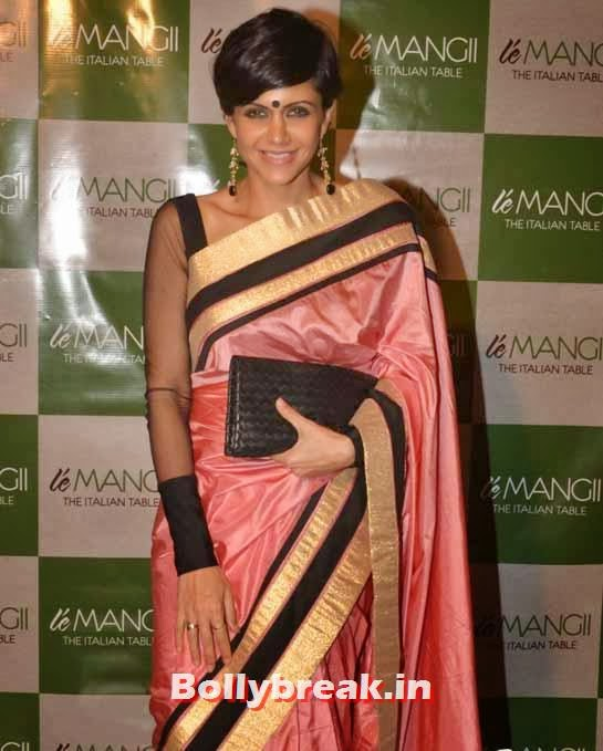Mandira Bedi, Page 3 Celebs at 'Le Mangii' Launch Party
