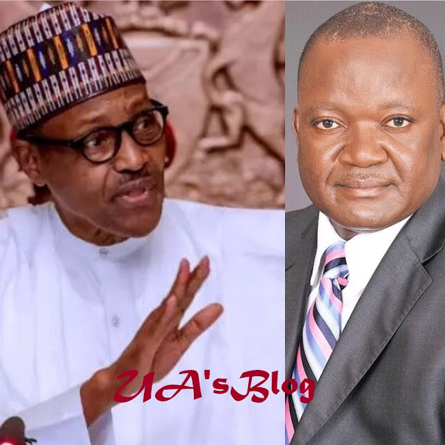 Ortom Defected To PDP Because I Told Him The Truth About Herdsmen -Buhari